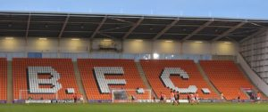 Blackpool have signed midfielderCallum Guy on loan from Derby ahead of a permanent switch.