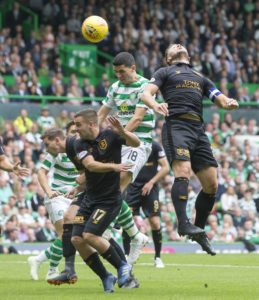 Celtic began their quest for an eighth successive Ladbrokes Premiership title with a convincing 3-1 home win over newly-promoted Livingston.