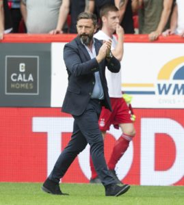 Aberdeen boss Derek McInnes has tipped Gary Mackay-Steven to make a return to the Scotland squad after a strong start to the season.