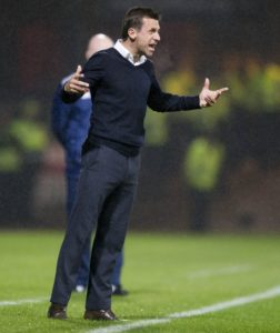 Dundee boss Neil McCann has hit back at suggestions he is under pressure following last weekend's shock defeat to Ayr.