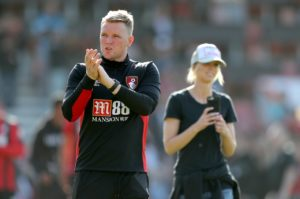 Eddie Howe is delighted with Bournemouth's squad strength given the number of top players he had to leave out against Cardiff City.
