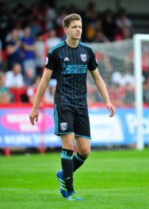 West Brom defender Jack Fitzwater has returned to Walsall on a season-long loan.