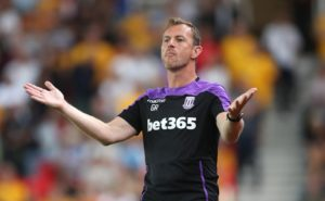 Gary Rowett was pleased to secure his first win as Stoke manager but he has urged his players not to get carried away.