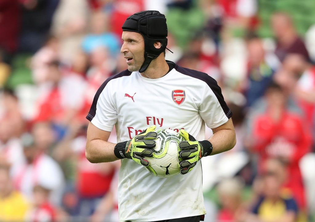 06aba35ea Arsenal goalkeeper Petr Cech says he is happy to adapt to the tactical  changes brought in