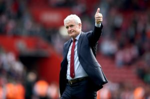 Mark Hughes begins his first full season in charge of Southampton at home to Burnley on Sunday.