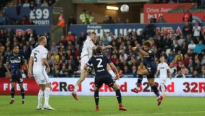 Swansea City's Barrie McKay insists that the 2-2 draw with Championship leaders Leeds United should be considered as 'a good point'.