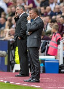 Celtic boss Brendan Rodgers is uncertain as to whether he can play Dedryck Boyata amid uncertainty around the future of the Belgium defender.