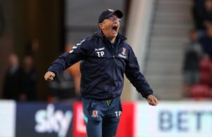 Tony Pulis felt there was no better time to score than when Daniel Ayala did as Middlesbrough left it late to beat West Brom.