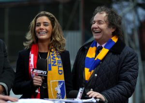 Mansfield chief executive Carolyn Radford claims football is still 'full of dinosaurs' and believes she is treated differently to men who act in the same role.
