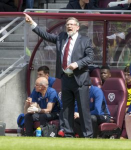 Summer signing Peter Haring scored a double as Hearts came from behind to beat Hamilton 4-1 in their Ladbrokes Premiership opener.