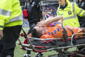 Rangers boss Steven Gerrard still has no idea how long Jamie Murphy is set to be ruled out for.
