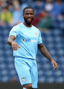 Midfielder Abu Ogogo has declared himself fit to make his Coventry debut against Scunthorpe on Saturday.
