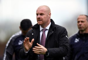 Will Hughes should have been sent off before he scored in Watford's 3-1 win at Turf Moor, according to Burnley manager Sean Dyche.