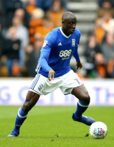 Birmingham midfielder Cheikh Ndoye has returned to his former club Angers on a season-long loan, the Blues have announced.