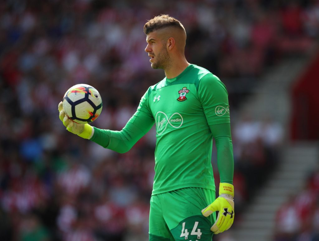 cccd7ffc2ed Besiktas are reportedly closing in on a deal to sign Southampton goalkeeper  Fraser Forster in this