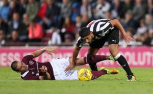Unsettled left-back Achraf Lazaar is closing in on a move from Newcastle United to Genoa, reports claim.