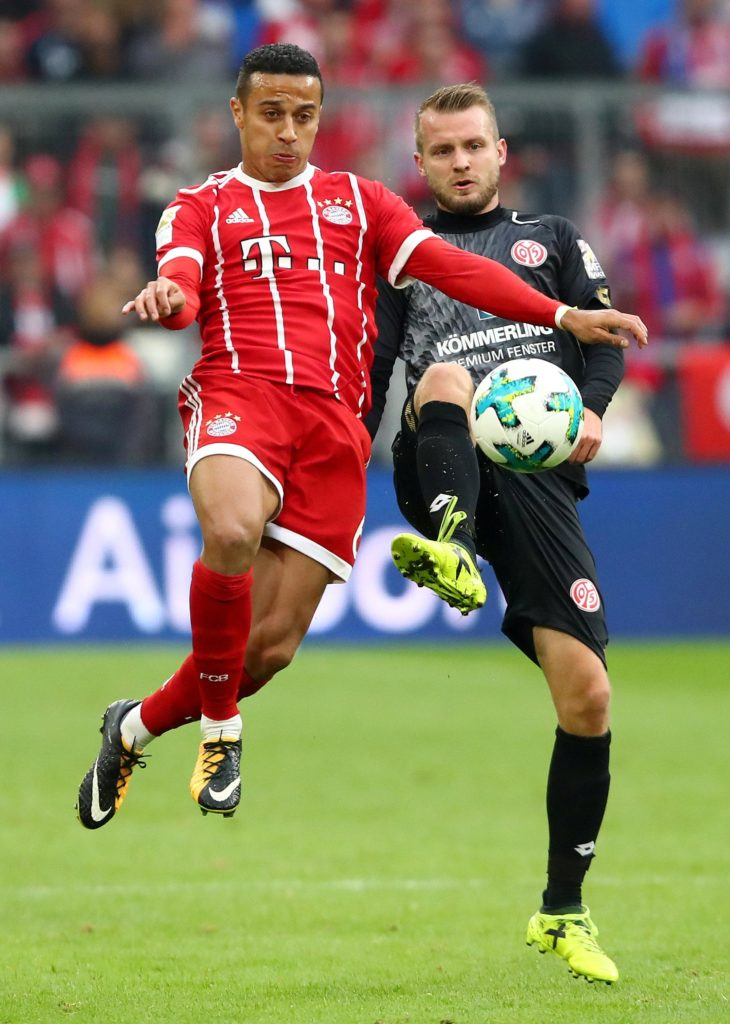 Bayern Munich midfielder Thiago Alcantara is reportedly being lined up by Real Madrid as a possible replacement for Luka Modric.