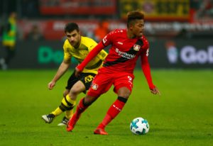 Roma have reportedly made a 40million euros bid for Bayer Leverkusen midfielder Leon Bailey.