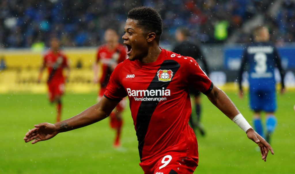 Bayer Leverkusen have announced winger Leon Bailey has extended his contract with the Bundesliga club by one year to 2023.