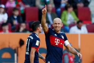 Arjen Robben says pre-season is going well on both a personal and collective level as Bayern Munich prepare for the new campaign.
