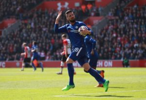 Marseille are reportedly eyeing a double Premier League swoop for Chelsea striker Olivier Giroud and Arsenal midfielder Mohamed Elneny.