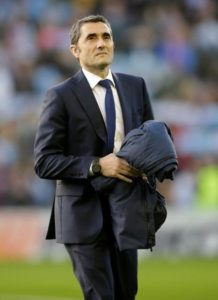 Barcelona boss Ernesto Valverde admits he was not pleased with the state of Real Valladolid's pitch in their 1-0 win on Saturday.
