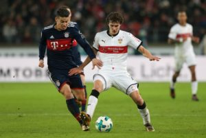 Stuttgart defender Benjamin Pavard is reportedly wanted by Premier League outfit Liverpool.