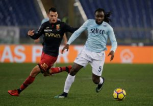 Jordan Lukaku has boosted Lazio by confirming that he should be back in action from a knee injury within a month.