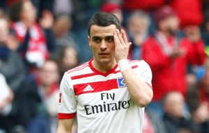 Eintracht Frankfurt have completed the signing of Serbia international Filip Kostic on a two-year loan deal from Hamburg.