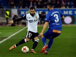 Southampton target Martin Montoya looks set to leave Valencia after the defender was excused from training on Thursday.