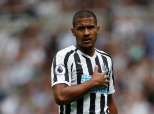 Salomon Rondon says he was relieved to finally join Newcastle last week and hopes to become the club's latest No.9 star.