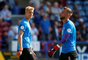 David Wagner is delighted to finally have strong competition between Ben Hamer and Jonas Lossl for the Huddersfield number one spot.