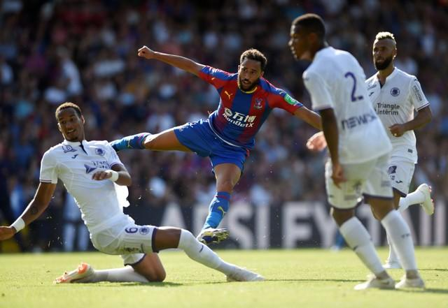 Andros Townsend has praised Crystal Palace's youth set-up and the persistence to keep giving young players a chance to shine.