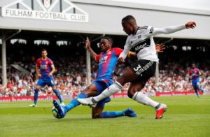 Crystal Palace boss Roy Hodgson is doing his best to play down the hype surrounding Aaron Wan-Bissaka.