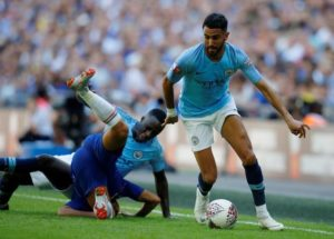 Riyad Mahrez says his summer switch from Leicester City to Manchester City was the 'perfect move for me'.