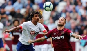 Bournemouth defender Nathan Ake says he was pleased with his level of performance in Saturday's 2-1 victory at West Ham.