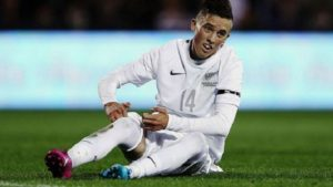 PSV Eindhoven midfielder Ryan Thomas will be out of action for a long spell after suffering a knee injury in training.