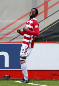 Rakish Bingham has welcomed the fresh competition for his place in Hamilton's front line.