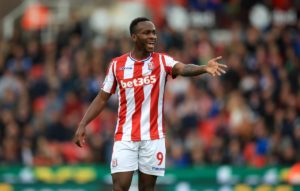 Saido Berahino missed a stoppage-time penalty for Stoke as Blackburn edged a pulsating 3-2 thriller at the bet365 Stadium.