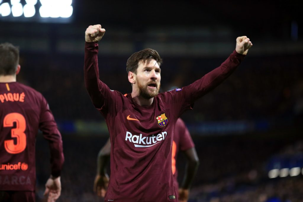 Barcelona boss Ernesto Valverde has heaped praise on Lionel Messi after he grabbed the 48th hat-trick of his career on Tuesday.