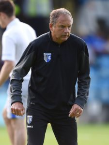 Gillingham manager Steve Lovell hailed the impact of Tom Eaves after the substitute scored a late equaliser in the 2-2 draw at Shrewsbury.
