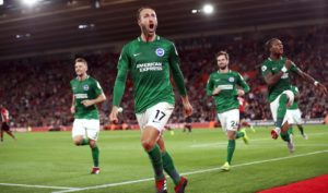 Chris Hughton claims Glenn Murray's reliability in front of goal gives Brighton constant hope of picking up Premier League points.