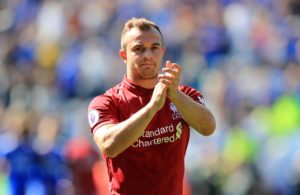 Jurgen Klopp admits it wasn't easy to take off Xherdan Shaqiri at half-time after he had played a pivotal role in Liverpool's display.