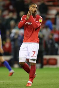 Lewis Grabban's late penalty helped Nottingham Forest grind out a gritty 1-0 win over Rotherham which extended their impressive record against the Millers.