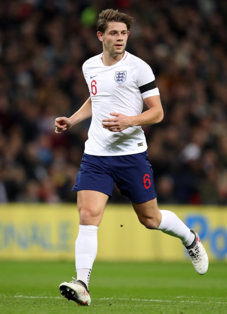James Tarkowski is determined to get over the disappointment of missing out on the World Cup by forcing his way into the England side.