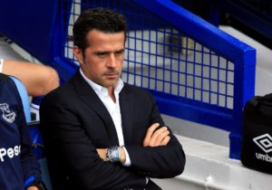 Everton manager Marco Silva admits injuries have prevented him making the progress he would have hoped since taking over in the summer.