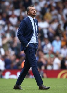 Slavisa Jokanovic was unhappy with Fulham's first-half performance in Saturday's draw against Watford.
