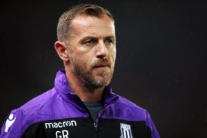 Stoke manager Gary Rowett was left with mixed emotions following their 2-2 draw at Rotherham.