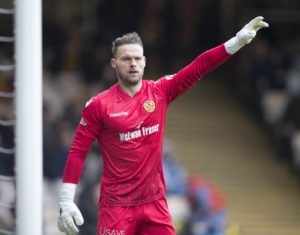 Motherwell have revealed that goalkeeper Trevor Carson suffered 'no serious injury' in a tackle with Hearts striker Uche Ikpeazu last Saturday.
