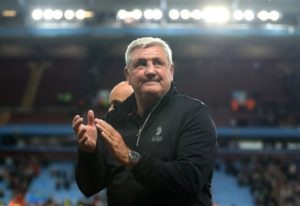 A smiling Steve Bruce expressed his delight with Aston Villa's 2-0 Championship home win over Rotherham United which took the Midlands club into sixth spot.